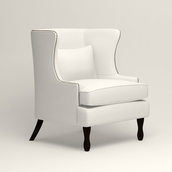 Solomon 23-inch Wingback Chair by Birch Lane Heritage Birch Lane™ Heritage