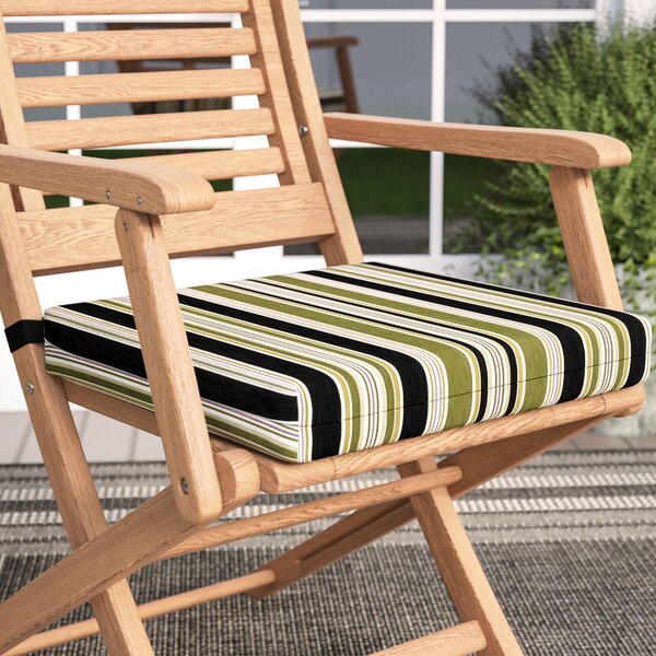 Indoor/Outdoor Patio Chair Cushion by Three Posts