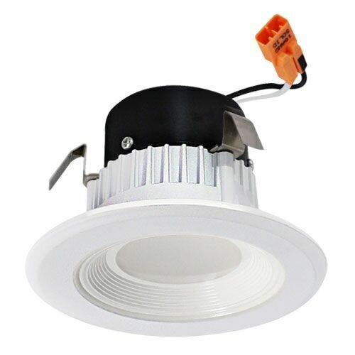 Round Insert Baffle 3 LED Recessed Retrofit Downlight by Elco Lighting