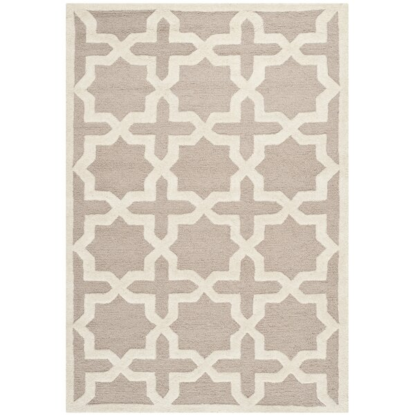 Martins Beige/Ivory Area Rug II by Wrought Studio