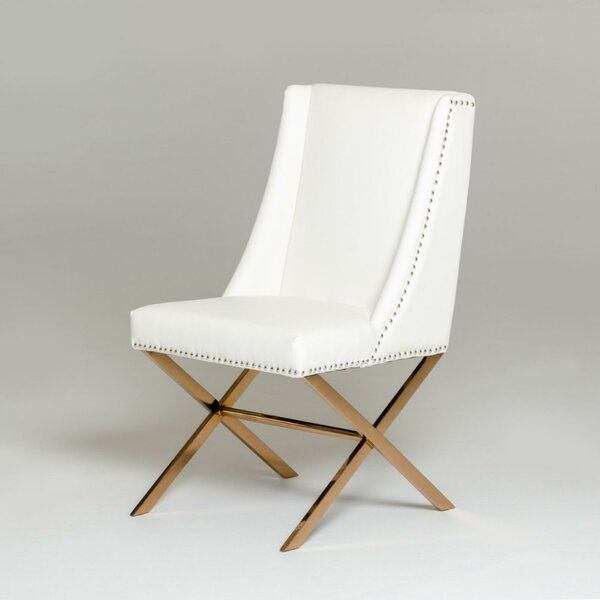 Parnassus Upholstered Dining Chair by Rosdorf Park