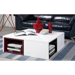 Compare Belafonte Ore Coffee Table with Colored Stools By Wade Logan