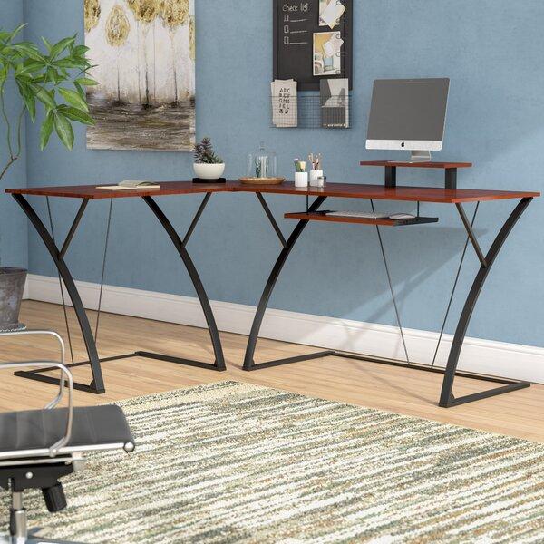 Murdock L-Shape Desk by Latitude Run