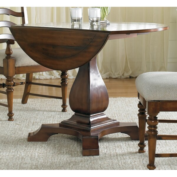 Round Drop Leaf Table By Hooker Furniture Wonderful