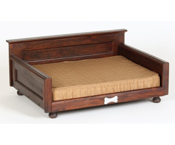 Courtney Dog Bed with Orthopedic Foam Mattress by Tucker Murphy Pet
