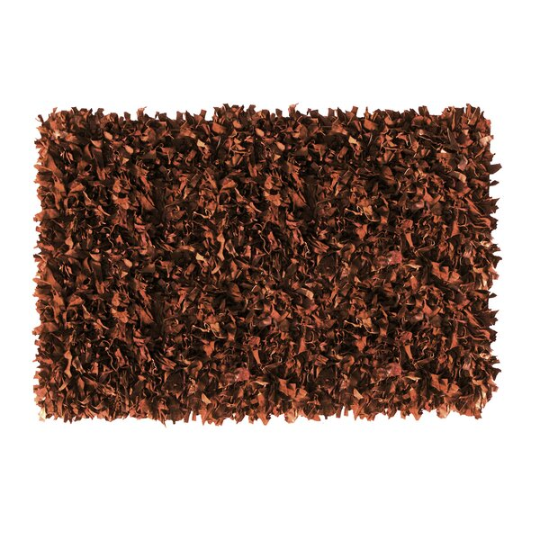 Handmade Brown Area Rug by Ess Ess Exports