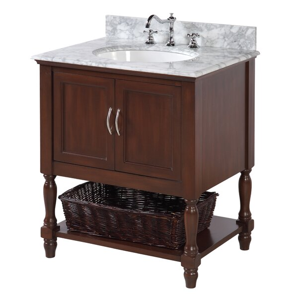 Beverly 30 Single Bathroom Vanity Set by Kitchen Bath Collection