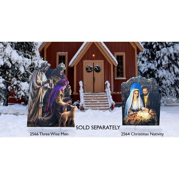 Best Holy Family Nativity Scene Christmas Oversized