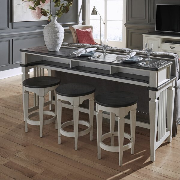 Allyson Park 4 Piece Pub Table Set by Darby Home Co