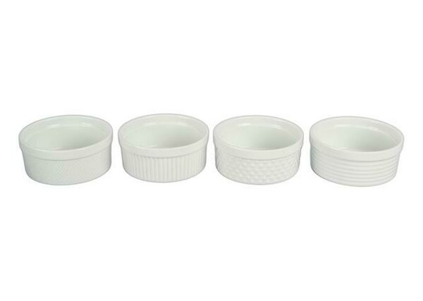 14 Oz. Texture Individual Souffle (Set of 4) by BIA Cordon Bleu
