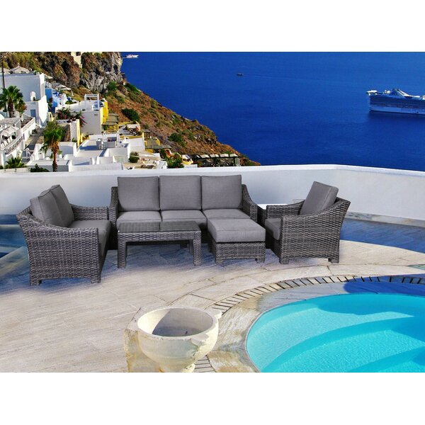 Donley 4 Piece Sofa Set with Cushions by Brayden Studio