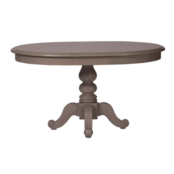 Hardcastle Drop Leaf Solid Wood Dining Table by Alcott Hill