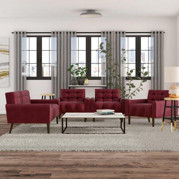 Perry 3 Piece Living Room Set by Zipcode Design