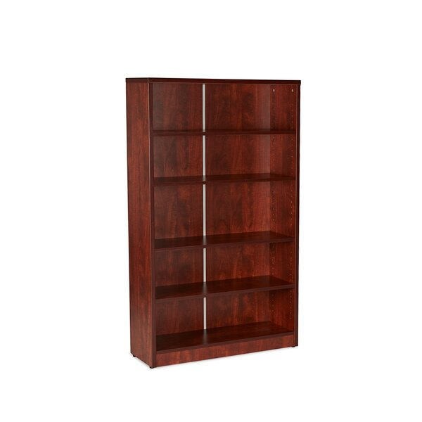 Gibney 5-Shelf Wood Standard Bookcase by Latitude Run
