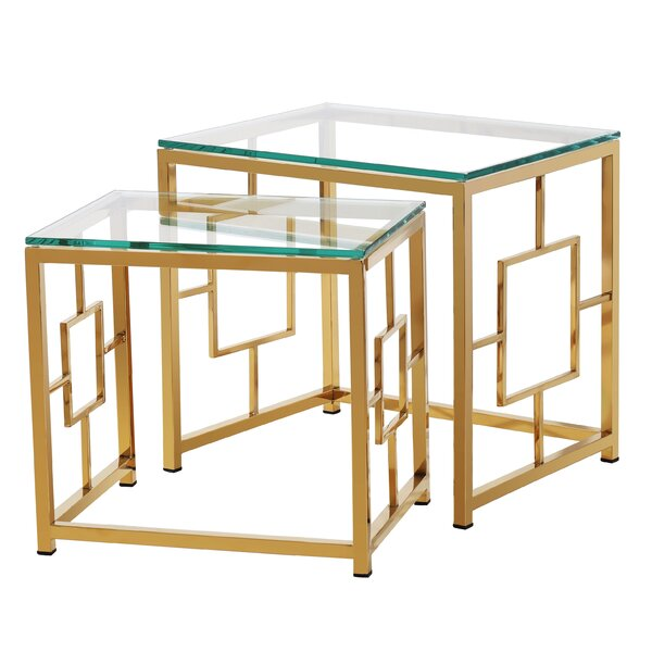 Feinberg 2 Piece Nesting Tables By Everly Quinn