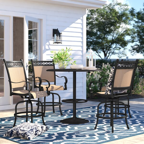 Curacao 5 Piece Bar Height Dining Set by Sol 72 Outdoor