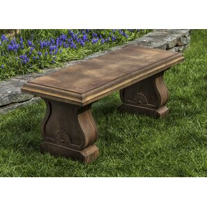 Westland Cast Stone Garden Bench