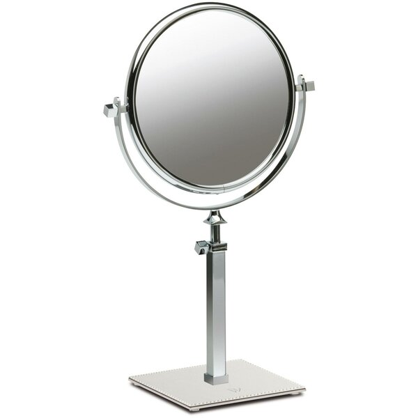 Everton Box Dual Sided Extendable Makeup/Shaving Mirror by Red Barrel Studio