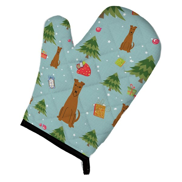 Christmas Irish Terrier Oven Mitt by Caroline's Treasures