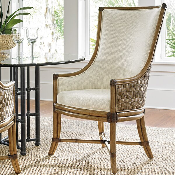 Twin Palms Upholstered Dining Chair by Tommy Bahama Home Tommy Bahama Home