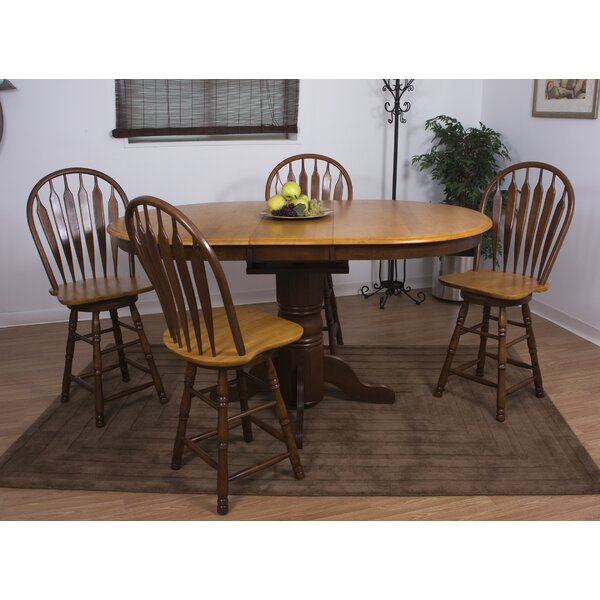 Aloysius 5 Piece Pub Table Set by Loon Peak