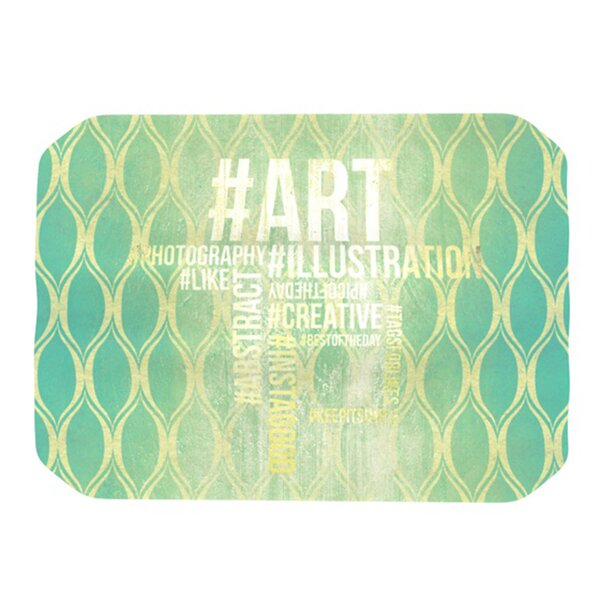 Hashtag Placemat by KESS InHouse