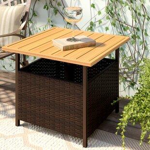 Shopping for Flatiron Wicker Side Table ByRed Barrel Studio