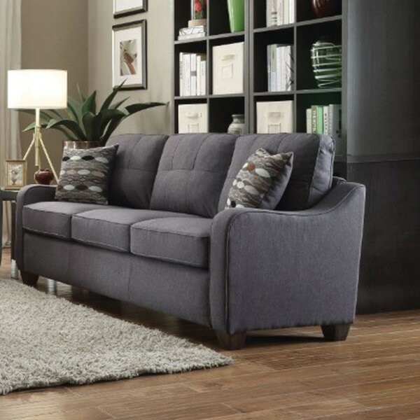 Fresh Romain Upholstered Sofa by Wrought Studio by Wrought Studio