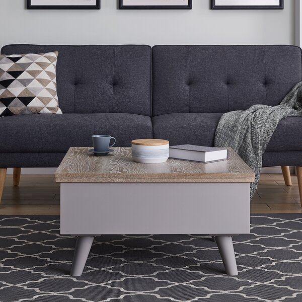 Brockington Convertible Storage Coffee Table By George Oliver