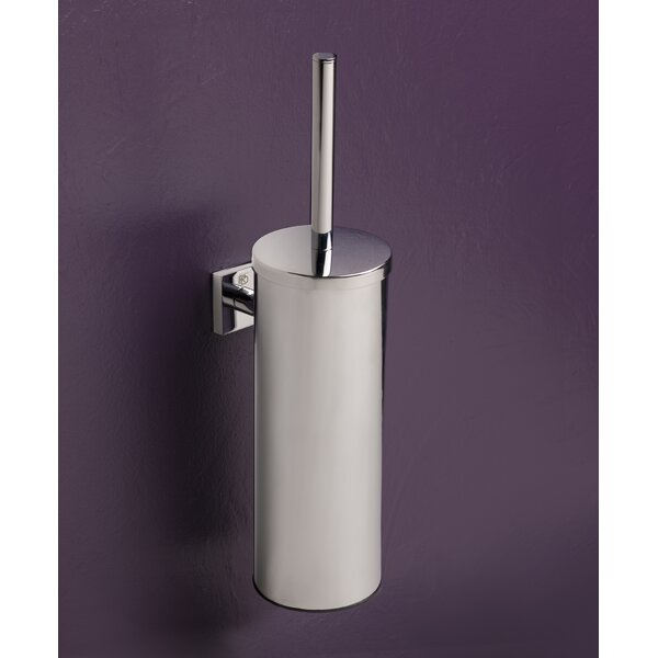 Quaruna Wall Mounted Toilet Brush Holder by BissonnetQuaruna Wall Mounted Toilet Brush Holder by Bissonnet