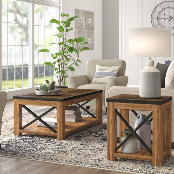 Battershell 2 Piece Coffee Table Set By Laurel Foundry Modern Farmhouse