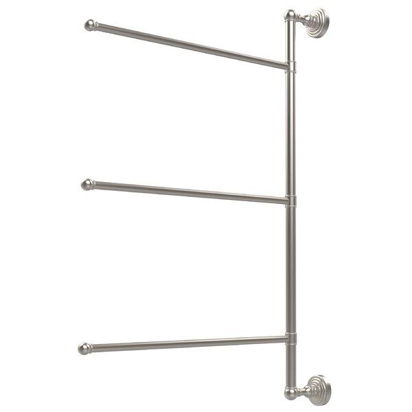 Waverly Place 3 Swing Arm Vertical Wall MountedTowel Bar by Allied Brass