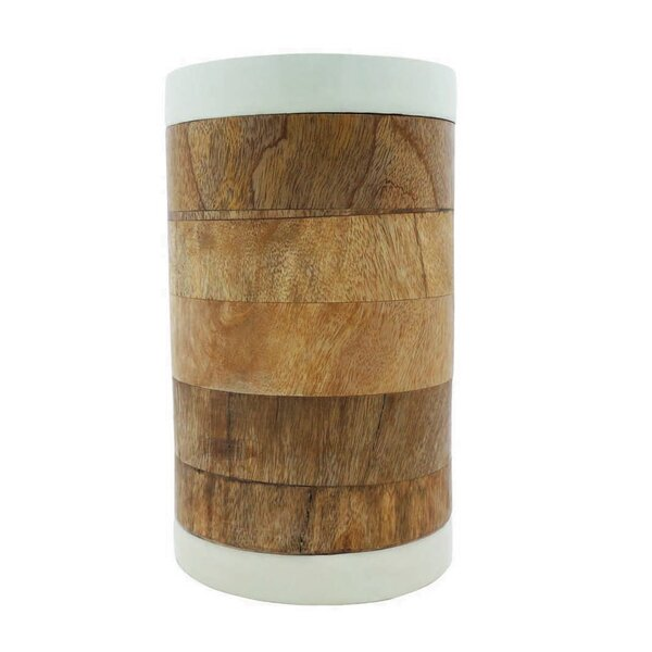 Wood Kitchen Canister by Bay Isle Home