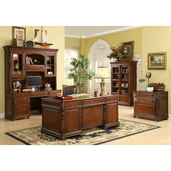 Finnerty 5-Piece Standard Desk Office Suite by Darby Home Co