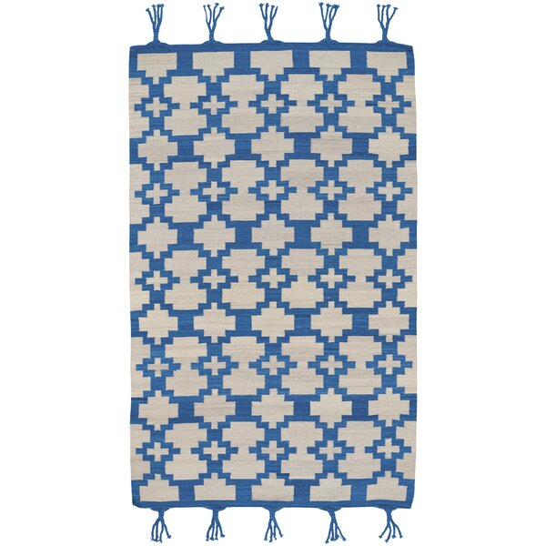 Pillar Blue Area Rug by Union Rustic