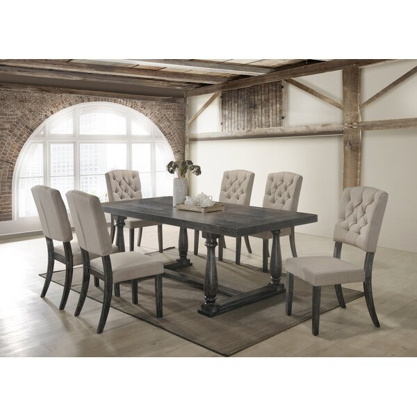 Gertrudes 7 Piece Dining Set by One Allium Way