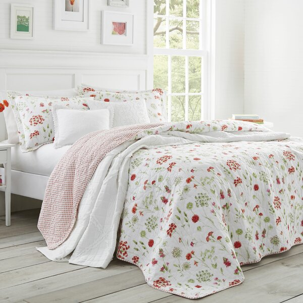 Libby Cotton Quilt Set by Laura Ashley Home by Laura Ashley Home