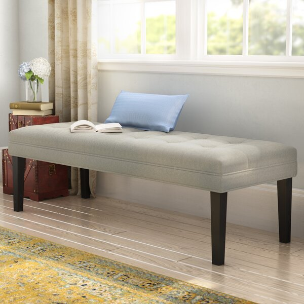 Steinbach Upholstered Bench by Alcott Hill