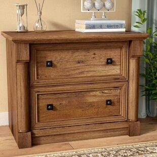 oak filing cabinet 2 drawer light oak orviston 2drawer lateral filing cabinet weathered oak wayfair