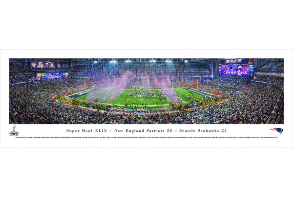 NFL Super Bowl 2015 by Christopher Gjevre Photographic Print by Blakeway Worldwide Panoramas, Inc