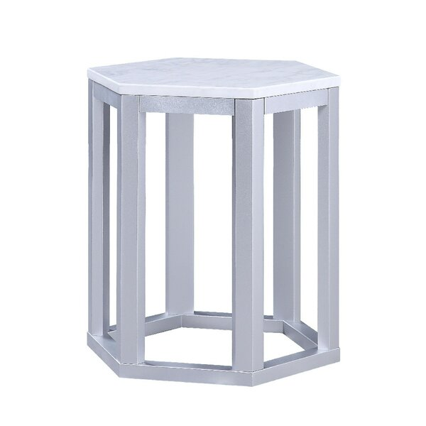 Fleck End Table (Set of 2) by Highland Dunes Highland Dunes