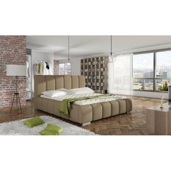 Soma Upholstered Platform Bed with Mattress by Orren Ellis
