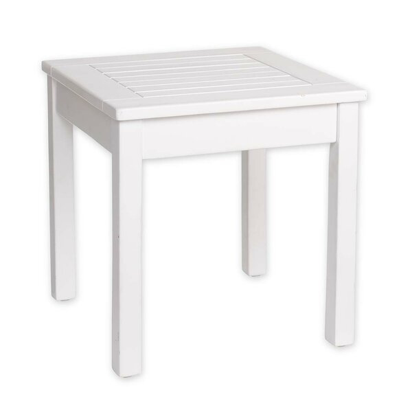 Slatted End Table By Plow & Hearth
