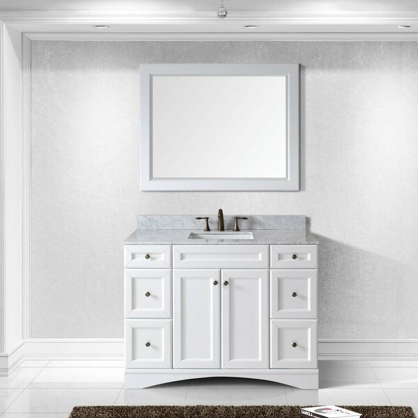 Rosado 48 Single Bathroom Vanity Set with Mirror by Three Posts