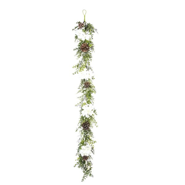 Christmas Iced Garland (Set of 2) by The Holiday Aisle