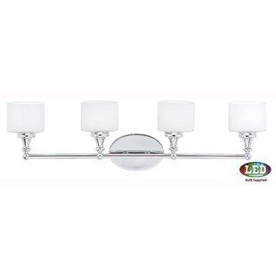 Compare prices Ramirez 4-Light Vanity light By Latitude Run