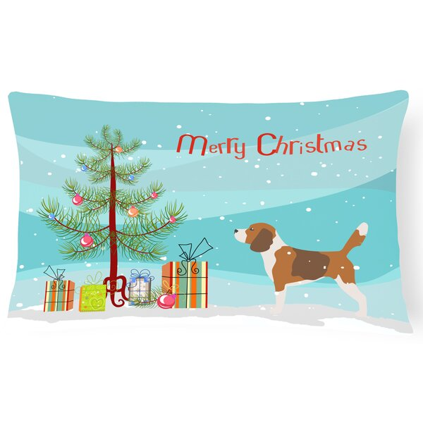 Beagle Indoor/Outdoor Lumbar Pillow by The Holiday Aisle