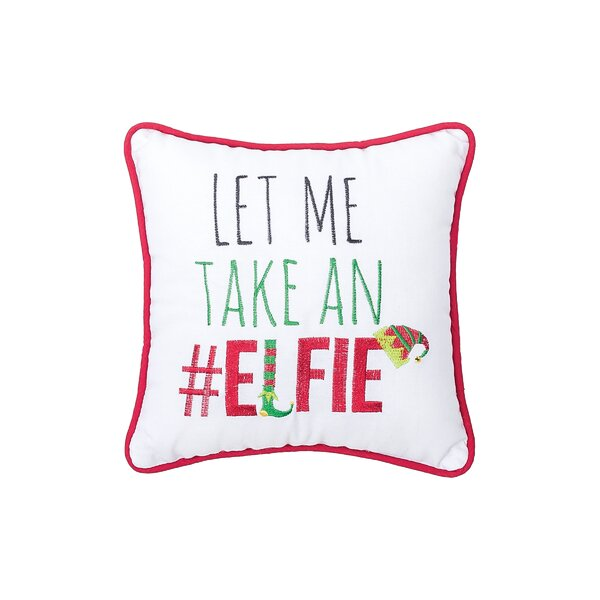 Mauch Elfie Cotton Throw Pillow by The Holiday Aisle