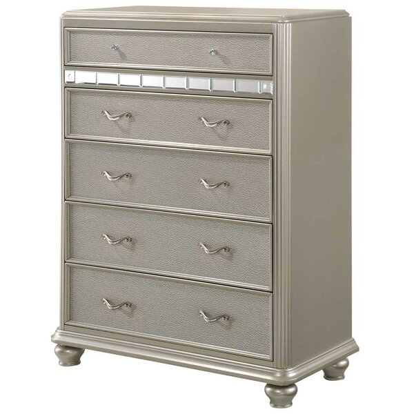 Drage 5 Drawer Chest by Rosdorf Park