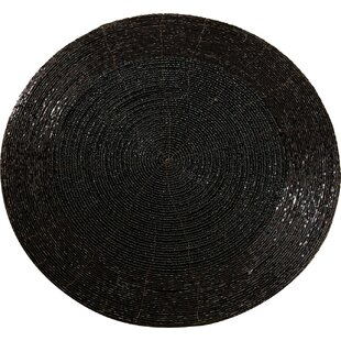 Attractive Round Beaded Placemats | Wayfair TQ34